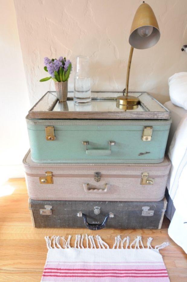 25 maneras de buscar una nueva vida a tus viejas maletas 13