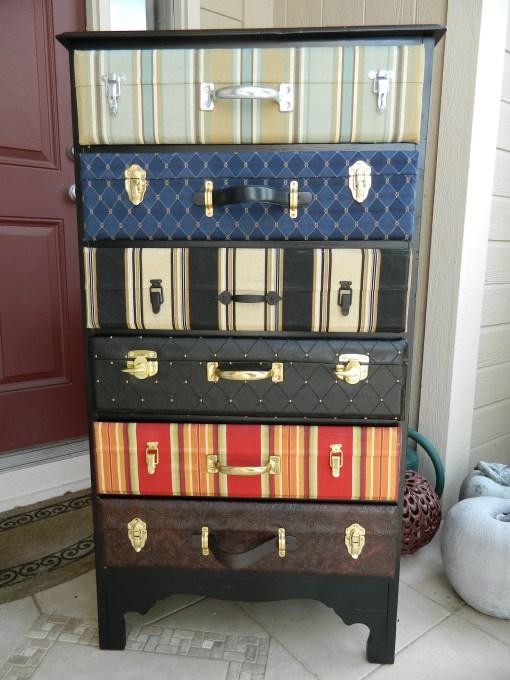 25 maneras de buscar una nueva vida a tus viejas maletas 20