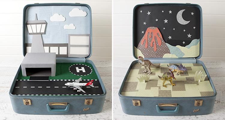 25 maneras de buscar una nueva vida a tus viejas maletas 21