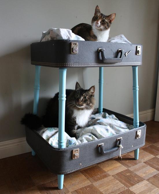 25 maneras de buscar una nueva vida a tus viejas maletas 24
