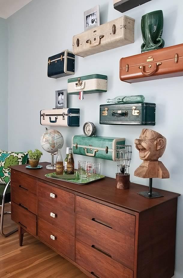 25 maneras de buscar una nueva vida a tus viejas maletas 7