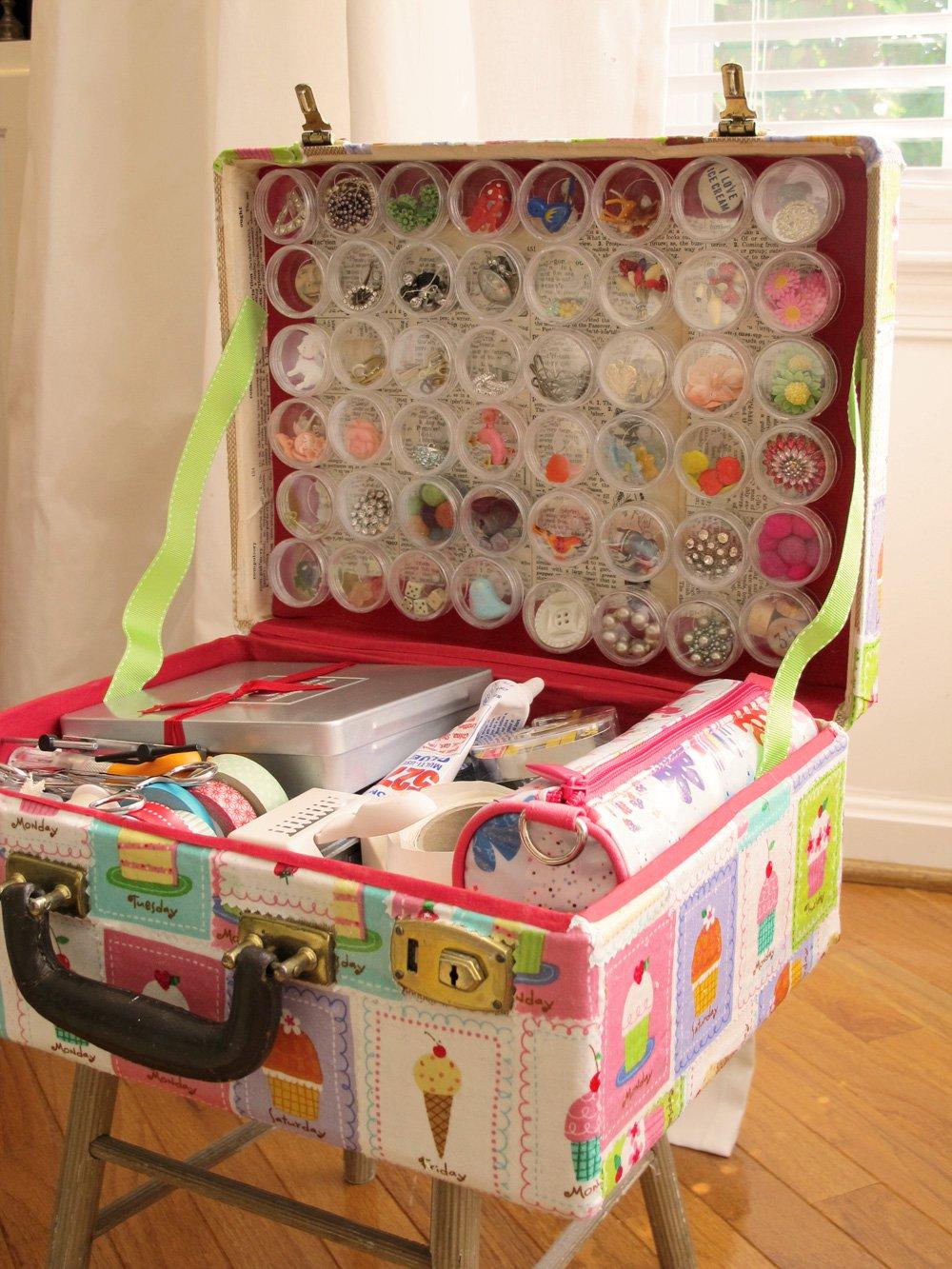25 maneras de buscar una nueva vida a tus viejas maletas 8