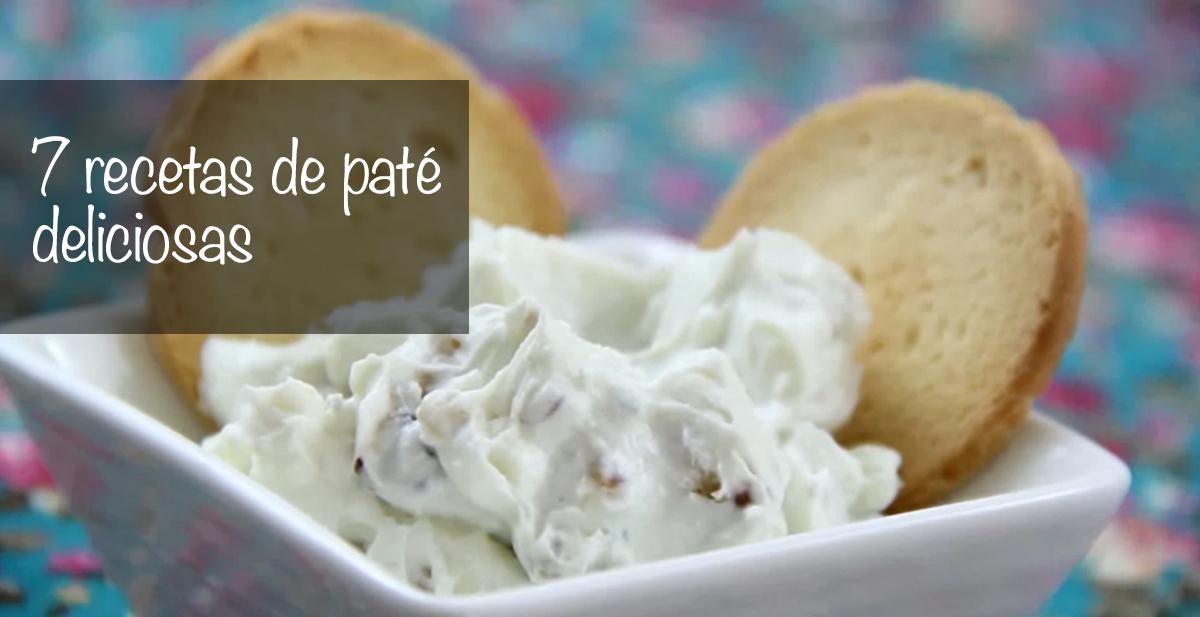 7 recetas de pate deliciosas