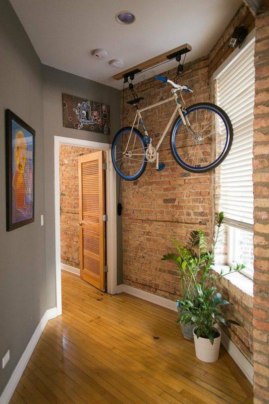 16 nuevas y originales ideas para guardar tu bicicleta en casa si ...