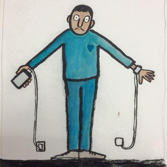 adiccion a las nuevas tecnologias por jean jullien 4