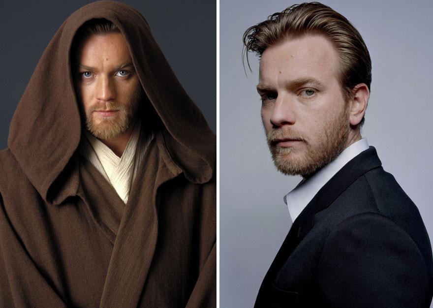 antes y despues actores star wars2