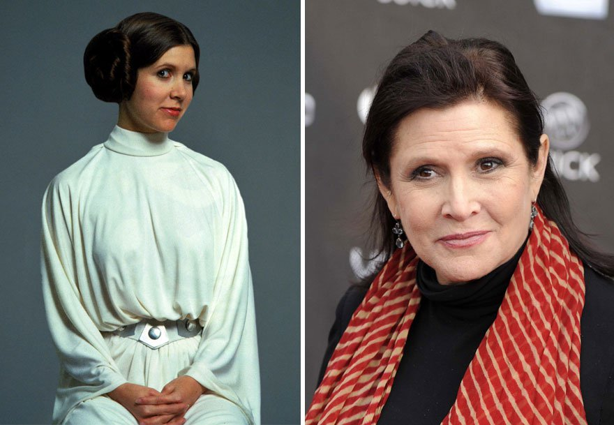 antes y despues actores star wars4