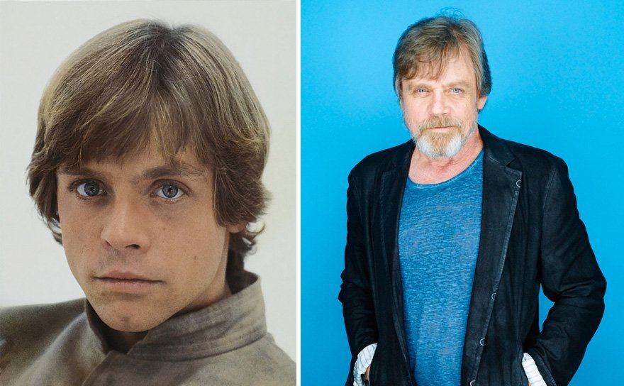 antes y despues actores star wars8