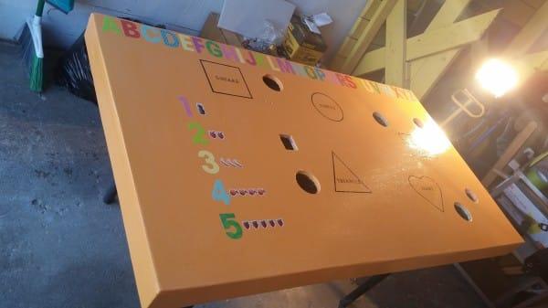 caomo fabricar una mesa de actividades para tus hijos con tus propias manos 7