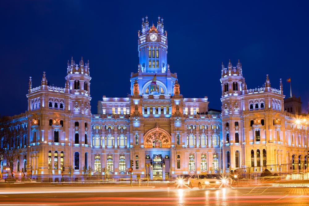 Palacio de Cibeles, sede de la Alcaldía de Madrid desde el año 2007