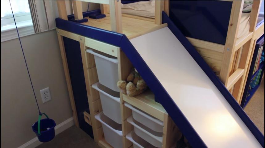 convierte la habitación de su hijo en un parque infantil con 3 muebles de ikea 18