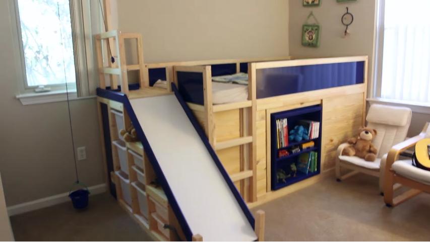 convierte la habitación de su hijo en un parque infantil con 3 muebles de ikea 3