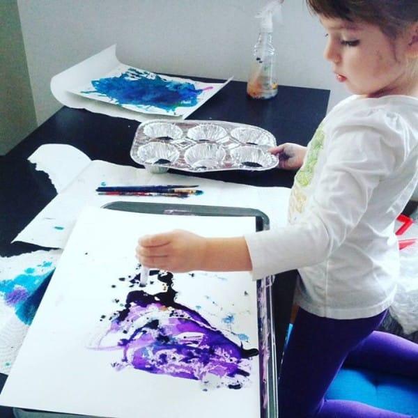 cuadros de ruth oosterman en colaboracion con su hija eve 10