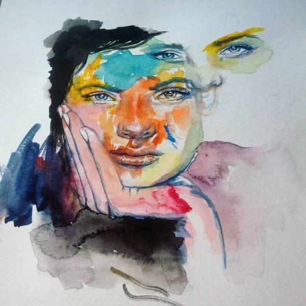 cuadros de ruth oosterman en colaboracion con su hija eve 11