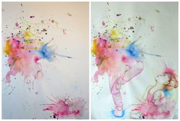 cuadros de ruth oosterman en colaboracion con su hija eve 3