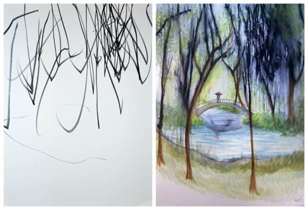 cuadros de ruth oosterman en colaboracion con su hija eve 7
