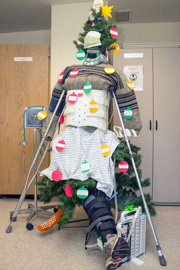 decoraciones navideñas en los hospitales 11