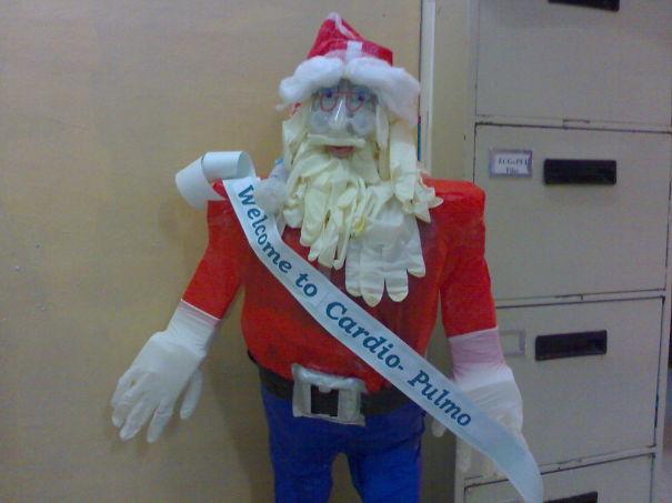 decoraciones navideñas en los hospitales 12