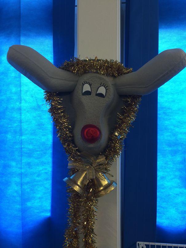 decoraciones navideñas en los hospitales 14