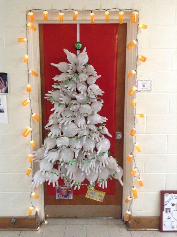 decoraciones navideñas en los hospitales 18