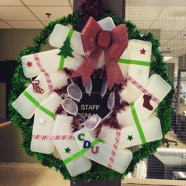 decoraciones navideñas en los hospitales 19