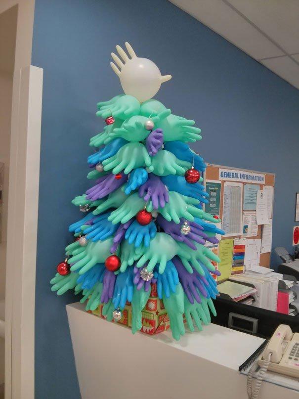 decoraciones navideñas en los hospitales 3
