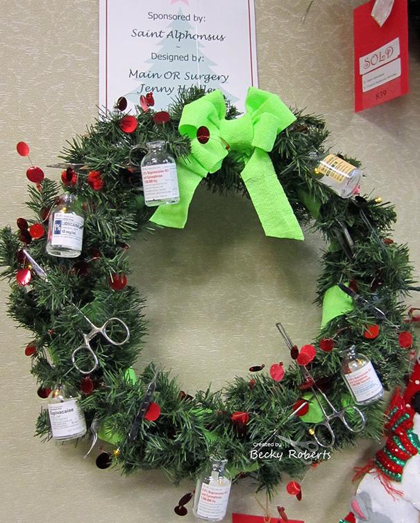 decoraciones navideñas en los hospitales 6