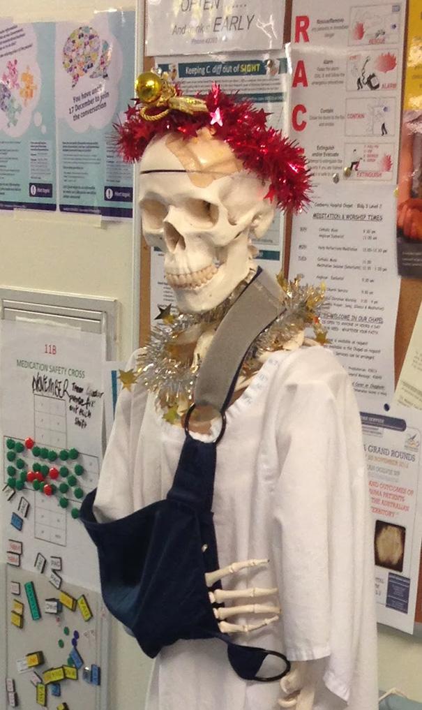 decoraciones navideñas en los hospitales 7