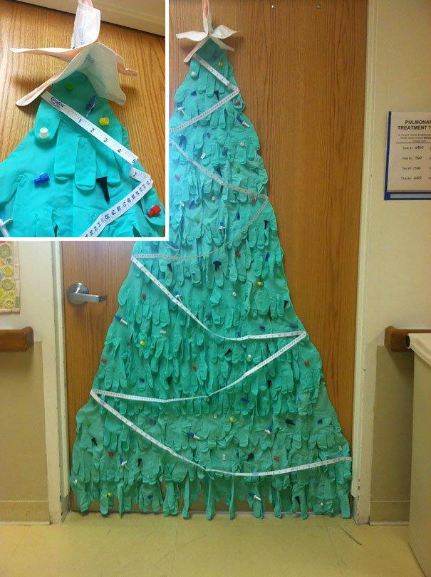 decoraciones navideñas en los hospitales 8