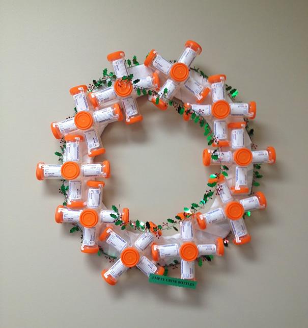 decoraciones navideñas en los hospitales 9