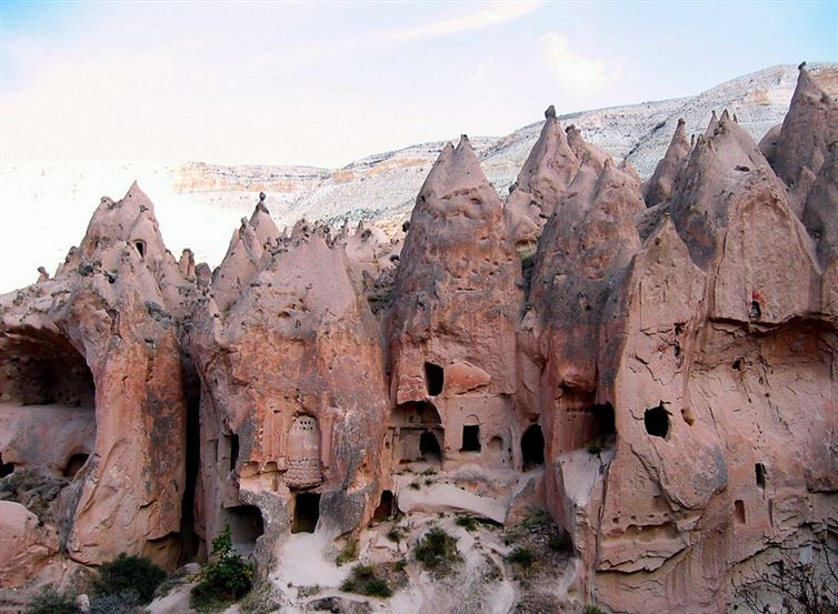 derinkuyu, la ciudad eexcavada en la piedra 13
