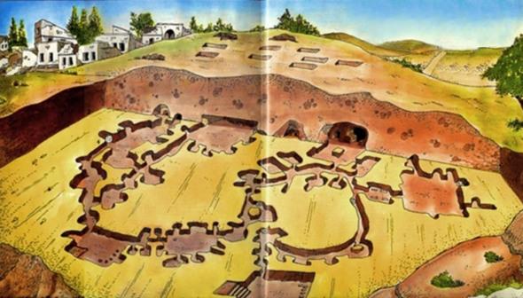 derinkuyu, la ciudad eexcavada en la piedra 4