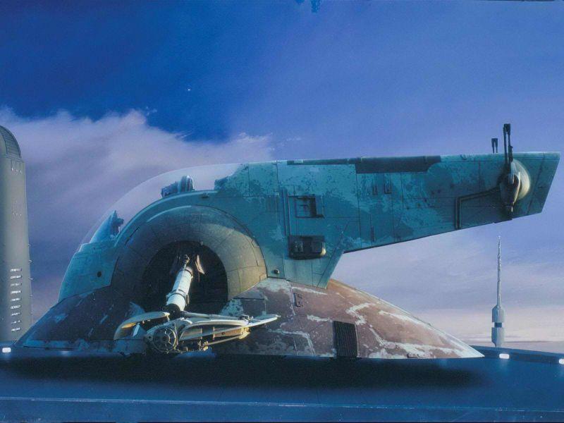 escenarios de matte painting de Star Wars1