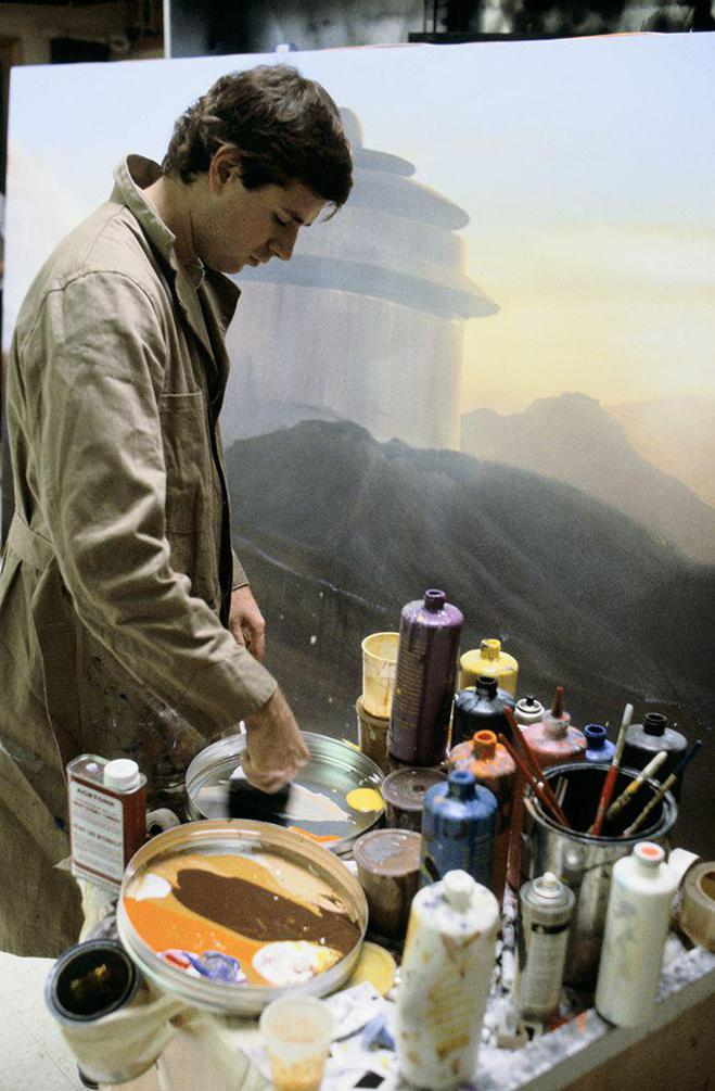 escenarios de matte painting de Star Wars11