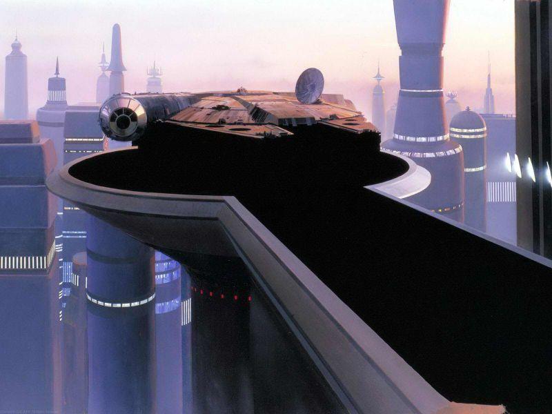 escenarios de matte painting de Star Wars14