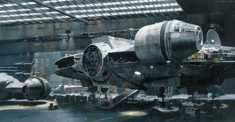 escenarios de matte painting de Star Wars19