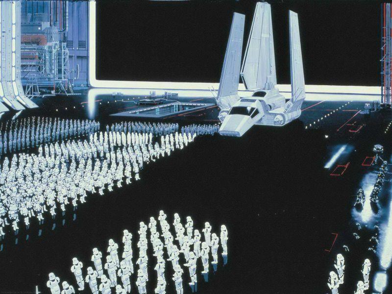 escenarios de matte painting de Star Wars3