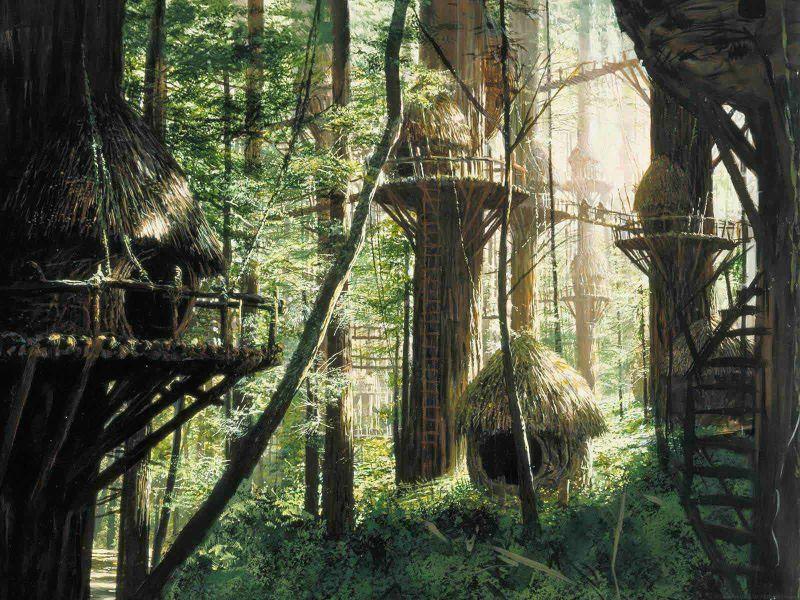 escenarios de matte painting de Star Wars30