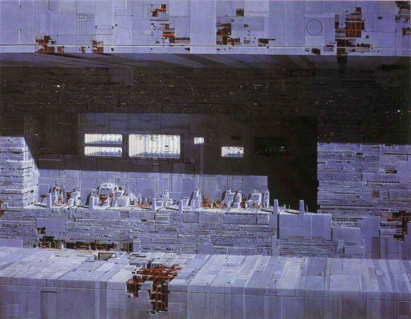 escenarios de matte painting de Star Wars5