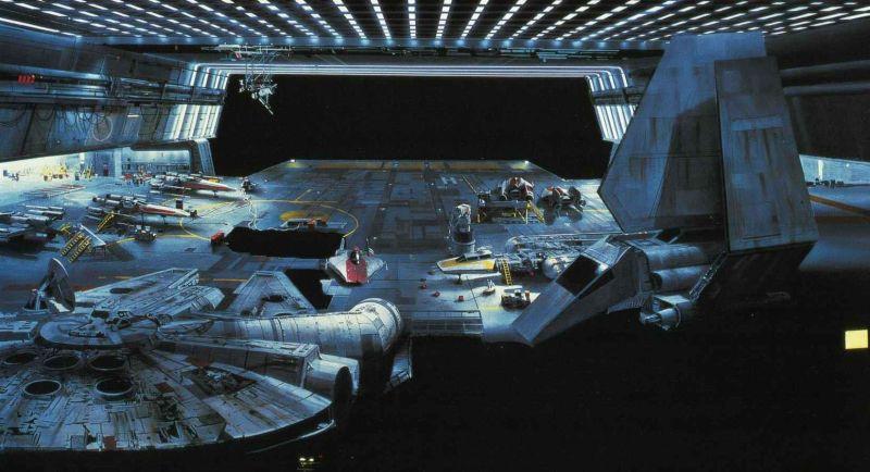 escenarios de matte painting de Star Wars8