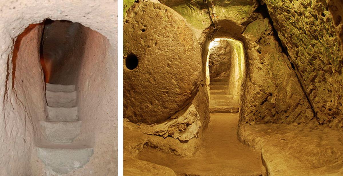 las ciudades subterraneas de capadocia, derinkuyu