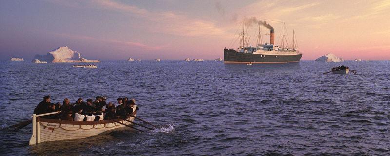 matte painting de titanic por chris evans