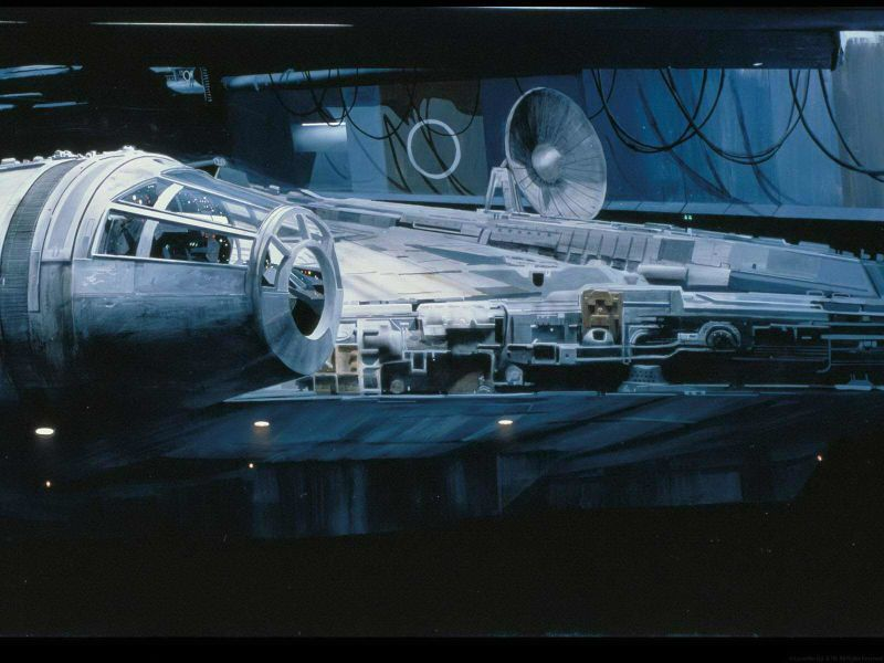 matte painting star wars