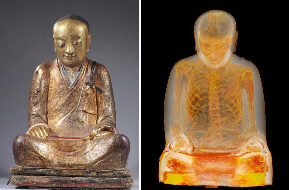 monje budista momificado 1