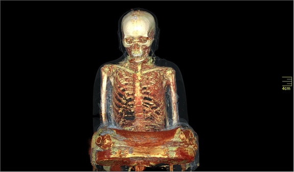 Parecía una estatua Buda de 1000 años, Mira que descubrieron