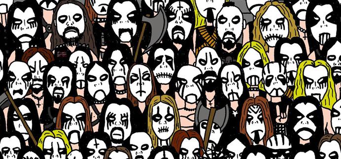 panda black metal
