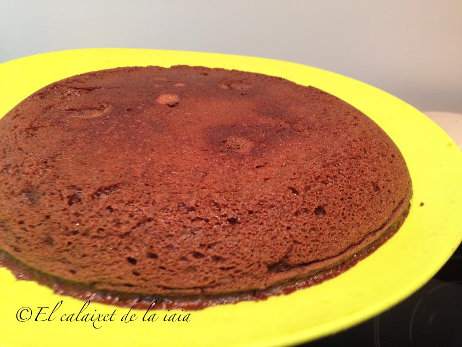 pastel chocolate sin horno 15