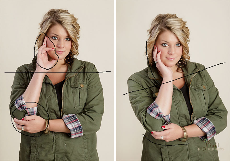 poses favorecido fotos 3