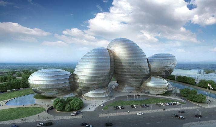 Uno de los finalistas del concurso para la elección del diseño de la nueva sede