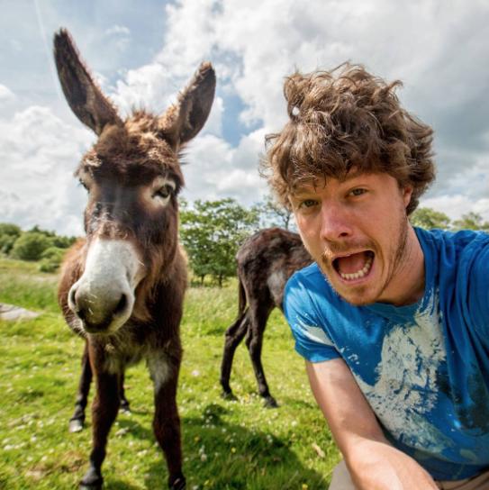 selfies con animales 14